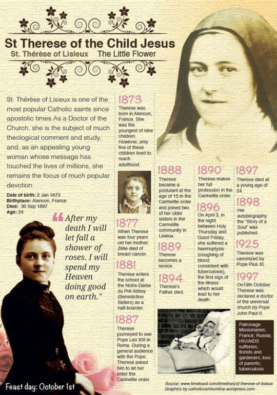 St therese novena rose stories