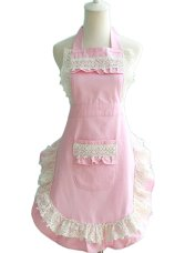 pink white lace apron, aprons, aprons for women, vintage aprons, vintage aprons uk, vintage aprons amazon, vintage aprons online, vintage aprons for sale,