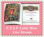 FSSP Traditional Catholic Latin Mass Live Stream