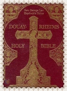 traditional catholic bible Haydock - Douay Rheims Bible