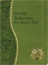 catholic christian book gift Pro-Life Reflections for Every Day