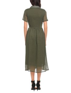 Short Sleeve Modest Dress Fall Autumn