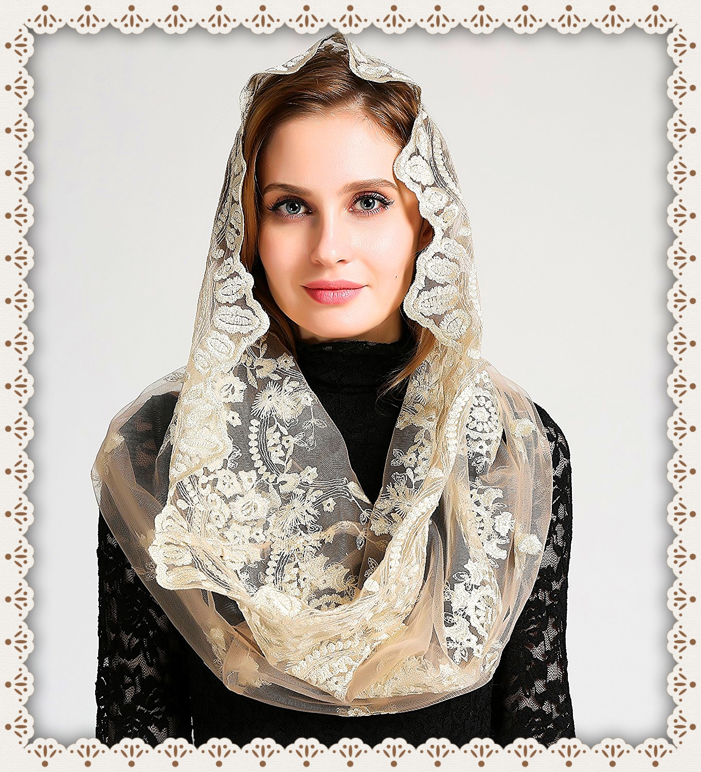 catholic mantilla veils mass
