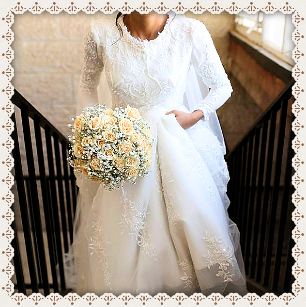 Vintage Wedding Dresses Utah: Traditional Catholic Femininity